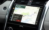 8 Land Rover Discovery D300 2021 UK first drive review infotainment