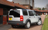 Land Rover Discovery Mk3 - static rear