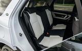 8 Land Rover Discovery P300e 2021 UK FD rear seats