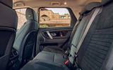 Land Rover Discovery Sport 2019 first drive review - rear seats