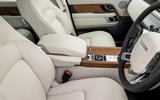 Land Rover Range Rover D300 2020 UK first drive review - front seats