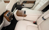 Land Rover Range Rover D350 mild hybrid 2020 UK first drive review - rear seats