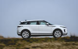 Land Rover Range Rover Evoque P200 2019 UK first drive review - on the road side