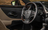 Lexus ES 300h 2018 review steering wheel