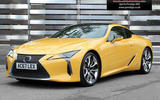 Lexus LC 500h - static front