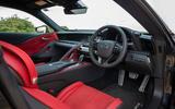 8 Lexus LC500 2021 UK FD cabin