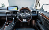 8 Lexus RX 450h L 2021 UK FD dashboard
