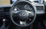 Lexus RX 450hL 2018 review steering wheel
