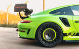 Manthey 911 GT3 RS MR 2020 first drive review - rear end