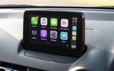 Mazda 2 Sport Nav 2020 UK first drive review - Apple CarPlay