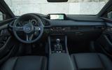 Mazda 3 2019 European first drive review - dashboard