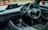 Mazda 3 2019 UK first drive review - dashboard
