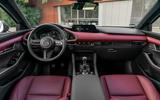 Mazda 3 Skyactiv-X 2019 first drive review - dashboard
