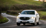 8 Mazda CX 5 2021 UK first drive review cornering front