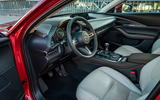 Mazda CX30 2019 first drive review - cabin