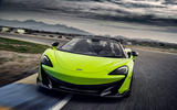 McLaren 600LT Spider 2019 first drive review - track front