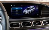 Mercedes-Benz GLS 400D 2019 first drive review - infotainment