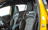 Mercedes-AMG A35 2018 first drive review - front seats