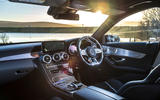 Mercedes-AMG C63 S Estate 2019 first drive review - cabin