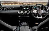 Mercedes-AMG CLA 45 S Shooting Brake 2020 UK first drive review - dashboard
