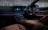 8 Mercedes AMG E52 2021 UK first drive review cabin
