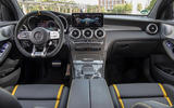 Mercedes-AMG GLC 63 S Coupé 2019 first drive review - dashboard