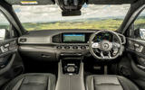 8 Mercedes AMG GLE 63S 2021 UK FD dashboard