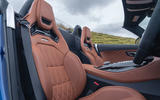 Mercedes-AMG GT R Roadster 2019 UK first drive review - seats