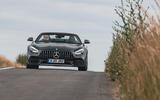 Mercedes-AMG GT Roadster 2019 UK first drive review - on the road front