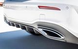 Mercedes-Benz A-Class A180D exhaust