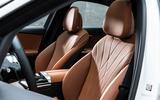 8 Mercedes Benz C Class 2021 FD front seats
