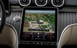 8 Mercedes Benz C Class C300e 2021 review infotainment