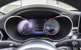 Mercedes-Benz C-Class C200 2018 review digital dials