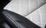 Mercedes-Benz C-Class C200 AMG Line 2018 UK review seats material