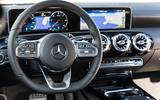 Mercedes-Benz CLA 2019 first drive review - dashboard