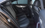 Mercedes-Benz CLS 350 d 2018 UK first drive rear seats