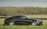 Mercedes-Benz CLS 450 2018 UK review on the road side