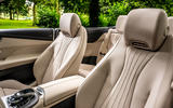 Mercedes-Benz E-Class e450 Cabriolet 2020 UK first drive review - front seats