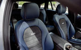 Mercedes-Benz EQC 2019 first drive - front seats