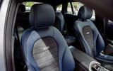 Mercedes-Benz EQC 2019 first drive - front seats