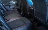 Mercedes-Benz GLA 220d 2020 UK first drive review - rear seats