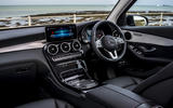 Mercedes-Benz GLC 220d 2019 UK first drive review - dashboard