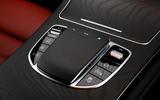 Mercedes-Benz GLC 300 2020 UK first drive review - infotainment controls