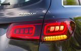 Mercedes-Benz GLC 300d 2019 first drive review - rear lights