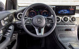 Mercedes-Benz GLC F-Cell 2019 first drive review - steering wheel