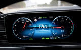 Mercedes-Benz GLE 350de 2020 first drive review - instruments