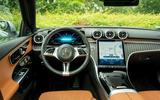 8 Mercedes C Class Estate 2021 UK LHD FD dashboard