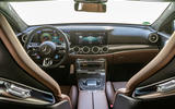 Mercedes-AMG E63 S Estate 2020 first drive review - dashboard