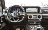 Mercedes-Benz G-Class G350d 2018 first drive review - dashboard