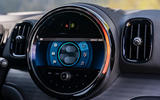 Mini Countryman Cooper S E All4 2020 first drive review - infotainment